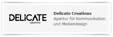 Delicate Creations – Agentur für Kommunikation und Mediendesign