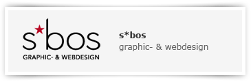s*bos Grafik- & Webdesign
